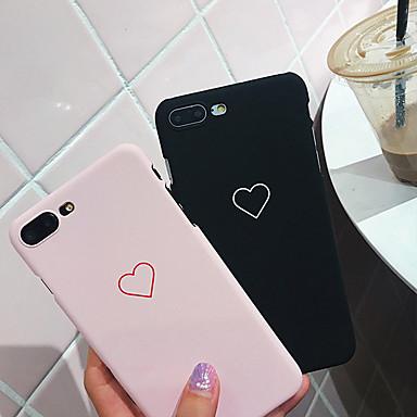 Недорогие Кейсы для iPhone-Кейс для Назначение Apple iPhone XS / iPhone XR / iPhone XS Max Защита от удара Кейс на заднюю панель С сердцем Мягкий пластик
