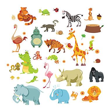 ราคาถูก Wall Art-สติ๊กเกอร์ประดับผนัง - Plane Wall Stickers / สติกเกอร์ติดผนังสัตว์ สัตว์ต่างๆ สถานรับเลี้ยงเด็ก / ห้องสำหรับเด็ก