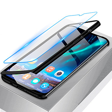 voordelige Galaxy A-serie hoesjes / covers-hoesje Voor Samsung Galaxy A6 (2018) / A6+ (2018) / Galaxy A7(2018) Schokbestendig / Ultradun / Mat Volledig hoesje Effen Hard PC