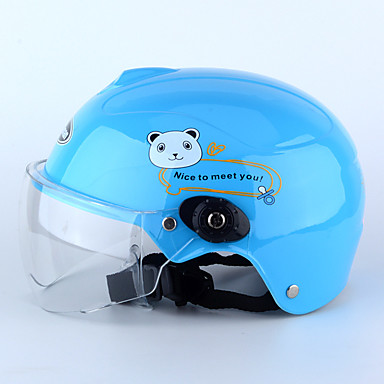 저렴한 헬맷 & 마스크-하프헬맷 아동 남여 공용 오토바이 헬멧 아동 안전 케이스 / 울트라 라이트 (UL)