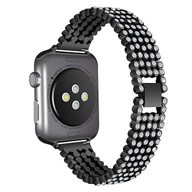 voordelige Smartwatch-accessoires-Horlogeband voor Apple Watch Series 4/3/2/1 Apple Moderne gesp Roestvrij staal Polsband