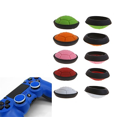 cheap Video Game Accessories-2-piece Game Controller Thumb Stick Grips For Xbox One / PS4 / Sony PS2 Silicone