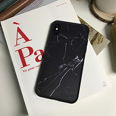 voordelige iPhone 5 hoesjes-hoesje Voor Apple iPhone XR / iPhone X / iPhone 8 Plus Patroon Achterkant Cartoon Zacht TPU