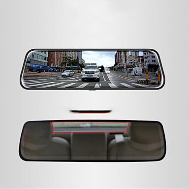 Недорогие Новые поступления-1080p Автомобильный видеорегистратор 170° Широкий угол 10 дюймовый IPS Капюшон с Ночное видение / Режим парковки / Обноружение движения Автомобильный рекордер