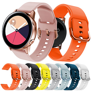 voordelige Horlogebandjes voor Samsung-Horlogeband voor Gear S2 / Samsung Galaxy Watch 42 / Samsung Galaxy Active Samsung Galaxy Sportband Silicone Polsband