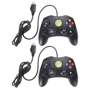 olcso Xbox 360 tartozékok-2. tétel fekete vezetékes vezérlő játékpárna a Microsoft xbox 2-es típusához