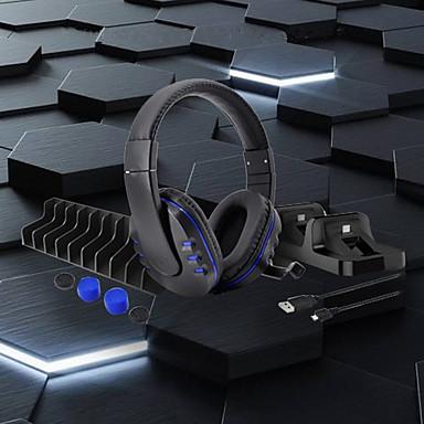저렴한 PS4 악세사리-ps4 / slim / pro 용 5-in-1 헤드폰 세트 게임 헤드셋 게임 스테레오 헤드셋