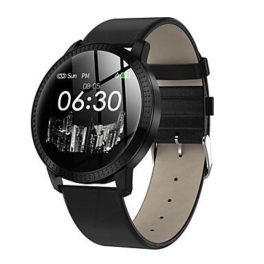 זול שעונים חכמים-CF28 גברים חכמים שעונים Android iOS Blootooth עמיד במים מסך מגע מוניטור קצב לב ספורטיבי כלוריות שנשרפו טיימר שעון עצר מד צעדים מזכיר שיחות מד פעילות