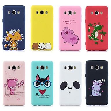 voordelige Galaxy J-serie hoesjes / covers-case voor Samsung Galaxy j5 (2016) / j7 (2016) patroon achterkant dieren- / cartoon zachte tpu voor j3 (2016) / j5 (2016) / j7 (2016)