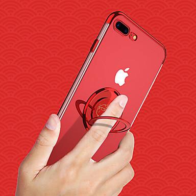 voordelige iPhone 7 hoesjes-cisic hoesje voor apple iphone xs / iphone xs max magnetisch / ringhouder / schokbestendig achterklep dier / transparant zacht silicagel voor iphone xs / iphone xs max