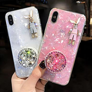 voordelige iPhone 6 Plus hoesjes-hoesje Voor Apple iPhone XS / iPhone XR / iPhone XS Max Schokbestendig Achterkant dier Zacht Siliconen