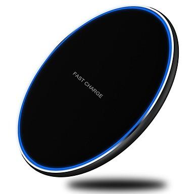 Недорогие Гаджеты для Samsung-Портативное зарядное устройство / Беспроводное зарядное устройство Зарядное устройство USB Универсальный Беспроводное зарядное устройство / Qi 1 USB порт 2.1 A DC 9V для Универсальный