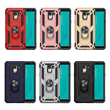 voordelige Galaxy J-serie hoesjes / covers-koffer voor Samsung Galaxy j4 plus (2018) / j7 (2018) met standaard / schokbestendige cover Armour hard pc voor j2 pro 2018 / j3 (2018) / j4 (2018) / j6 (2018) / j7 (2018) / j5 ( 2017) / j7 (2017)