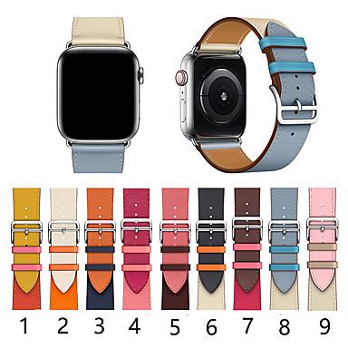 billige Telefontilbehør-smartwatch band for Apple Watch serien 4/3/2/1 klassisk spenne iwatch stropp enkel sirkel