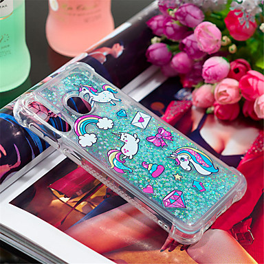 Case For Samsung Galaxy Galaxy A30(2019) / Galaxy A50(2019) Shockproof / Flowing Liquid / Pattern Back Cover Animal / Glitter Shine Soft TPU for A6 (2018) / A6+ (2018) / Galaxy A7(2018)