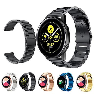 voordelige Horlogebandjes voor Samsung-Horlogeband voor Samsung Galaxy Active Samsung Galaxy Moderne gesp Roestvrij staal Polsband