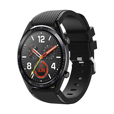 abordables Correas para Huawei-correa de reloj para huawei gt huawei reloj 2 banda clásica 22mm correa de repuesto de silicona de liberación rápida para el equipo s3 pebble time moto 360 lg g reloj ticwatch pro asus vivowatch