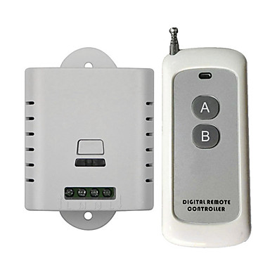 cheap Smart Switch-Smart Switch DL220-V1.0+AK-1000-2F for Living Room / Study / Daily LED Light / Creative / Easy to Install Wireless Remote 110-150 V / 220 V / 100-240 V
