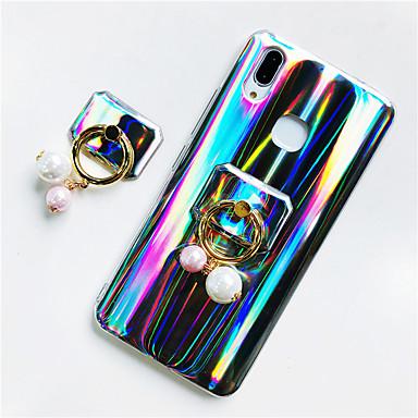 voordelige Huawei Mate hoesjes / covers-hoesje Voor Huawei Huawei P20 / Huawei P20 Pro / Huawei P20 lite Ringhouder / Glitterglans Achterkant Glitterglans / Kleurgradatie Zacht TPU / P10