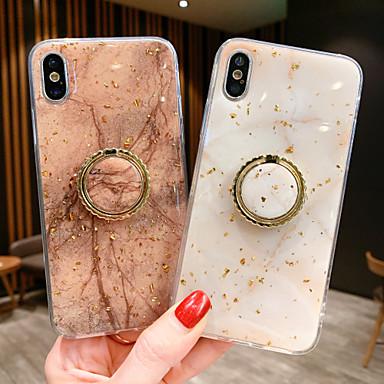 voordelige iPhone 6 hoesjes-hoesje Voor Apple iPhone XS / iPhone XR / iPhone XS Max Magnetisch Achterkant Marmer TPU