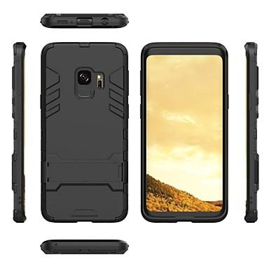 voordelige Galaxy S-serie hoesjes / covers-2 in 1 ultraslanke schokbestendige volledig beschermende koffer met beugel voor Samsung Galaxy S9 / S9 plus