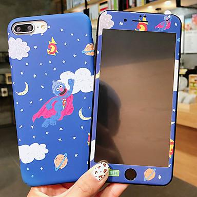 voordelige iPhone X hoesjes-geval voor apple iphone xr / iphone xs max patroon / glow in the dark achterkant cartoon / bloem harde pc voor iphone x xs 8 plus 8 7 plus 7 6 6s 6 plus 6s plus