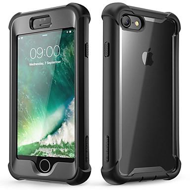 Недорогие Кейсы для iPhone-Кейс для Назначение Apple iPhone 8 / iPhone 7 Защита от удара / Защита от пыли Чехол / Бампер Однотонный Мягкий ТПУ