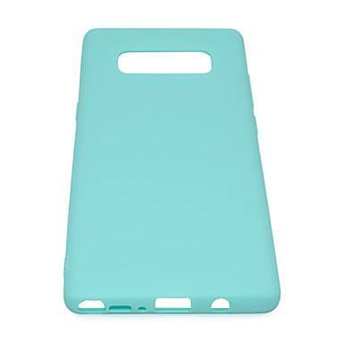 voordelige Galaxy Note-serie hoesjes / covers-case voor Samsung note 8 leuke candy kleur matte tpu anti-kras antislip beschermhoes achterkant van de behuizing