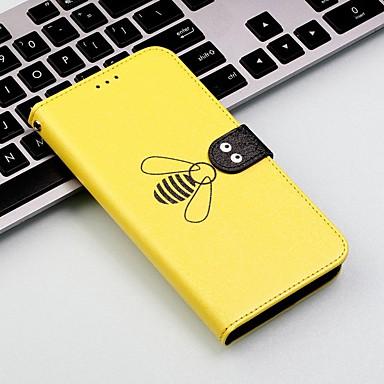 billige Etuier/covers til Huawei-Etui Til Huawei P20 lite / Huawei P30 Pro Pung / Kortholder / Stødsikker Fuldt etui Flise / Dyr Hårdt PU Læder for Huawei P20 / Huawei P20 Pro / Huawei P20 lite