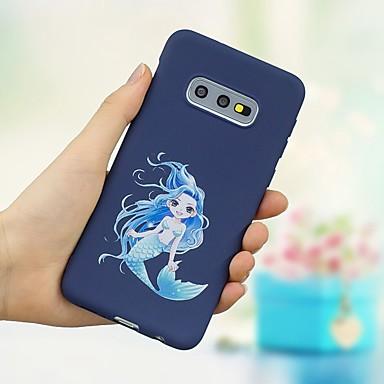 voordelige Galaxy S-serie hoesjes / covers-hoesje Voor Samsung Galaxy S9 / S9 Plus / S8 Plus Schokbestendig / Mat / Patroon Achterkant Sexy dame Zacht TPU