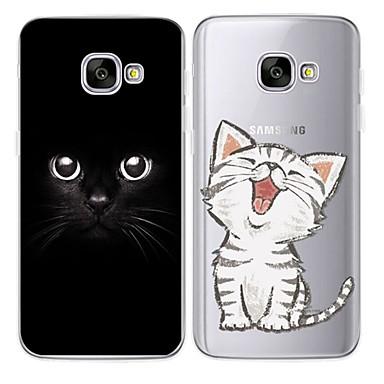 Недорогие Чехлы и кейсы для Galaxy Note 4-Кейс для Назначение SSamsung Galaxy Note 9 / Note 8 / Note 5 Защита от удара / Защита от пыли / Резервная копия Кейс на заднюю панель Однотонный Мягкий ТПУ / силикагель