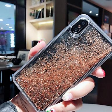 voordelige iPhone X hoesjes-case voor apple iphone xs max / iphone 8 plus vloeiende vloeistof / schokbestendig / stofdicht achterkant 3d cartoon / voedsel zachte silicagel voor iphone 7/7 plus / 8/6/6 plus / xr / x / xs