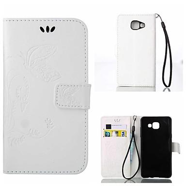 Недорогие Чехлы и кейсы для Galaxy S6-Кейс для Назначение SSamsung Galaxy S7 edge / S7 / S6 edge plus Кошелек / Защита от удара / Флип Чехол Пейзаж / Животное Твердый Кожа PU