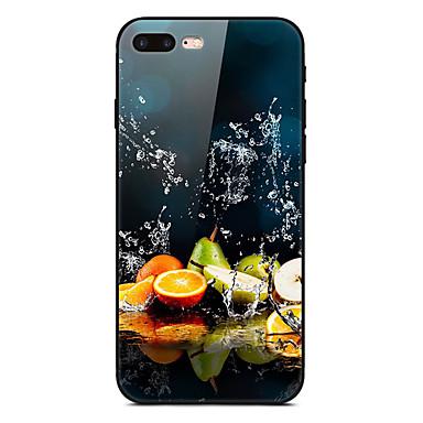 Недорогие Кейсы для iPhone-Кейс для Назначение Apple iPhone XS / iPhone XR / iPhone XS Max Ультратонкий / С узором Кейс на заднюю панель Продукты питания / Цвет неба Мягкий ТПУ