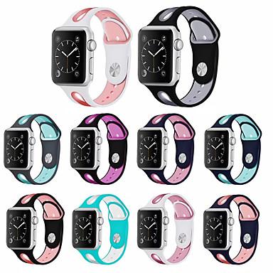 Недорогие Ремешки для Apple Watch-ремешок для часов для яблока ремешок для часов 42мм 38мм 44мм 40мм силиконовый ремешок ремешок для часов серии apple 4/3/2/1