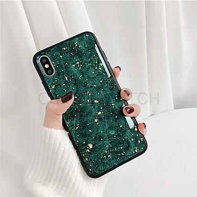 voordelige Galaxy Note-serie hoesjes / covers-hoesje Voor Samsung Galaxy S9 / S9 Plus / S8 Plus Stofbestendig / Patroon Achterkant Marmer TPU