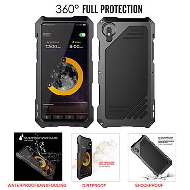 voordelige iPhone 6 Plus hoesjes-hoesje voor Apple iPhone 8 plus / iPhone 8 / iPhone 7 plus / 6splus / 6 schokbestendig / waterbestendig achterkant effen gekleurd metaal