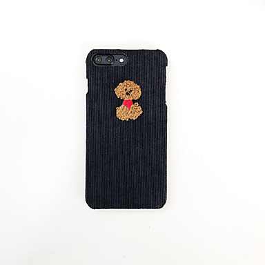 voordelige iPhone X hoesjes-hoesje voor Apple iPhone XS / iPhone XR / iPhone XS Max patroon achterkant dier / cartoon textiel