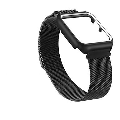 Недорогие Ремешки для Apple Watch-Ремешок для часов для Apple Watch Series 4/3/2/1 Apple Миланский ремешок Нержавеющая сталь Повязка на запястье