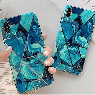 voordelige iPhone-hoesjes-luxe gouden geometrische marmeren cel set voor de iPhone 6 / 6s / 6p / 6sp / 7/8 / 7p / 8p / x / xs / xr / 11 / 11p zachte tpu mobiele set