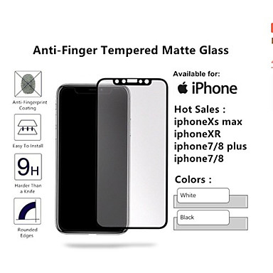 voordelige iPhone screenprotectors-voor iphone xs max xr x 8 7 6s plus matte schermbeschermer iphone xs max xr x 8 7 6s plus matte schermbeschermer film