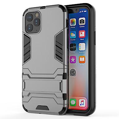voordelige iPhone X hoesjes-hoesje voor Apple iPhone 11 11 pro 11 pro max schokbestendig met standaard full body cases armor tpu pc xs max xr xs x 8 8plus 7 7plus 6 6plus 6s 6splus