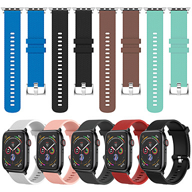 billige Apple Watch urremme-sport silikone armbånd til armbåndsur til apple watch serie 4/3/2/1 armbånd armbånd