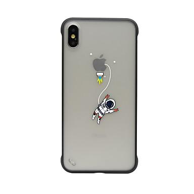 voordelige iPhone X hoesjes-hoesje Voor Apple iPhone XS / iPhone XR / iPhone XS Max Schokbestendig / Stofbestendig / Doorzichtig Achterkant Cartoon TPU