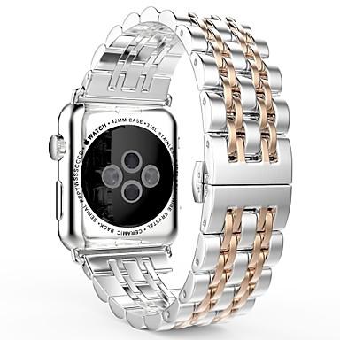 voordelige Smartwatch-accessoires-Horlogeband voor Apple Watch Series 4/3/2/1 Apple Sieradenontwerp Roestvrij staal Polsband