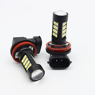 voordelige Automistlampen-2x 9006 / hb4 42 smd led witte kleur 2835 canbus foutloze mistlamp 6500k