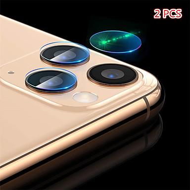 voordelige iPhone screenprotectors-2 stks terug camera lens beschermer gehard glas film voor iPhone 11/11 pro / 11 pro max / xs max / xr / xs / x / 8plus / 8 / 7plus / 7 / 6plus / 6