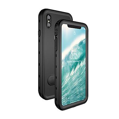 voordelige iPhone X hoesjes-hoesje voor Apple toepasbaar op xs max mobiele telefoon hoesje xr drie-in-één x / xs valbestendige stofdichte sneeuwhoes