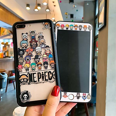 voordelige iPhone-hoesjes-hoesje Voor Apple iPhone XS / iPhone XR / iPhone XS Max Ultradun / Doorzichtig Achterkant Cartoon Gehard glas