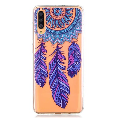 voordelige Galaxy A-serie hoesjes / covers-hoesje voor Samsung Galaxy A40 (2019) / Galaxy A50 (2019) / A70 (2019) Patroon Achterkant Dream Catcher TPU voor A10 (2019) / A20 (2019) / A30 (2019) / A8 (2018) / A7 (2018) / a6 (2018)